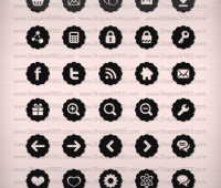80+ Badge Icons (Vector)