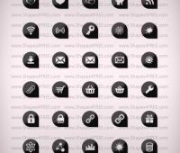 70 Corneristic Vector Icons for Web Designers