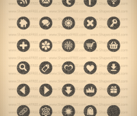 35 Pretty Texture Icons