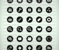 60 Photoshop Stitched Icons