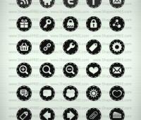 60 Photoshop Stitched Icons