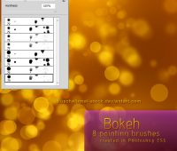 Bokeh Brushes by  kuschelirmel-stock
