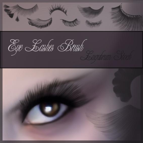 Eyelashes Brushes For Photo Editing With Photoshop Free Photoshop