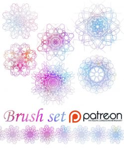 Recource: decorative brushes by  sionra