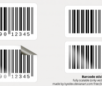 Barcode  PSD FILE