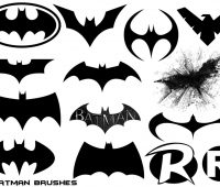 Batman Free Brushes