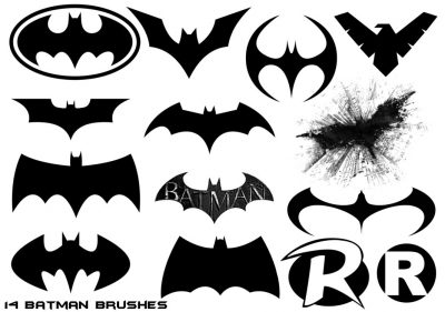 Batman Free Brushes