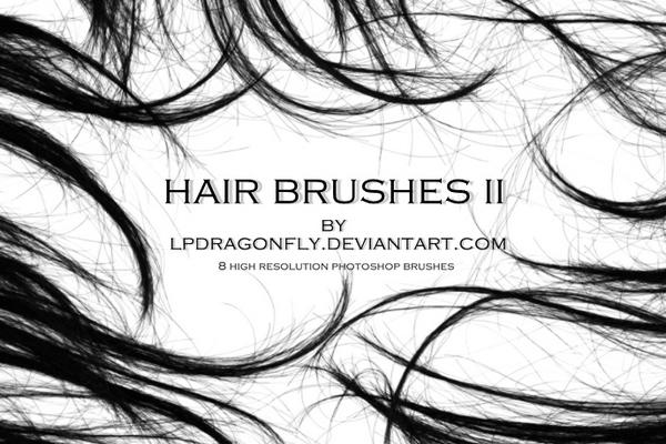 Hair Free Brushes Hq Free Photoshop Brushes At Brushez