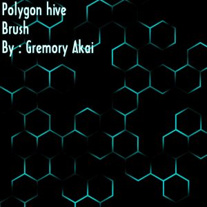 Hive Polygon Free Photoshop Brushes