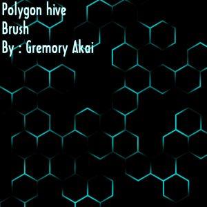 Hive Polygon Free Photoshop Brushes