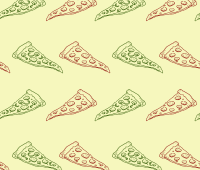 Pizza doddle pattern