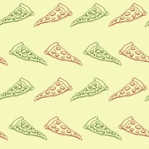 Pizza doddle pattern