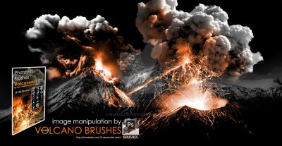 Volcano Photoshop Brushes