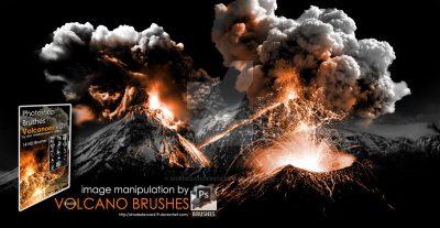 Volcano Photoshop Brushes