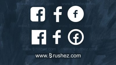 facebook logo custom shapes
