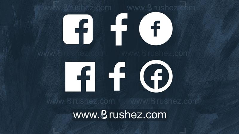 Facebook Logo Custom Shapes Free Photoshop Brushes At Brushez