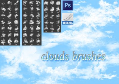 real Clouds Photoshop Brushes