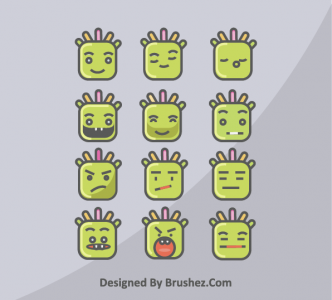 face emotions vector