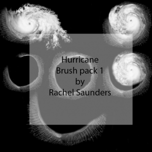 Hurricane photoshop brushes