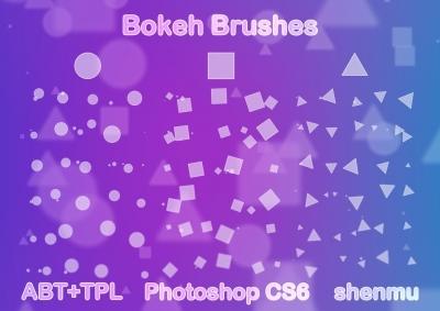 Bokeh free brushes