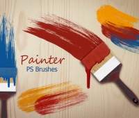 Painter photoshop Brushes
