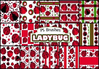 ladybug photoshop brushes
