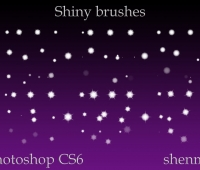 shining free brushes