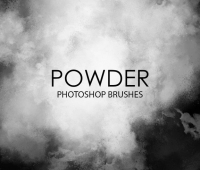 free-powder photoshop brushes