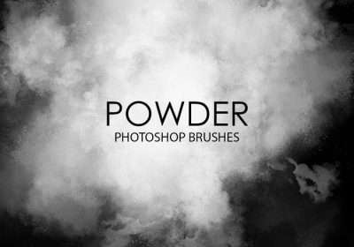 free-powder photoshop brushes