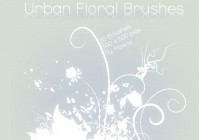Urban Floral Brushes