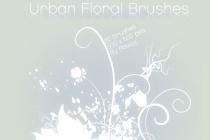 Urban Floral Brushes