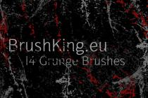 BK Grunge Brushes set 1