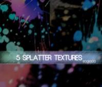 5 Splatter Texture