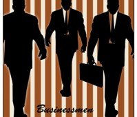 businessman shapes