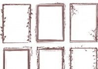 Brush Pack – Grungy Frames 02