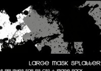 Large Splatter Mask