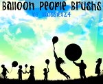 Balloon People Brushes