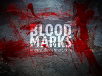 Blood Marks brushes