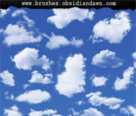 Clouds II Photoshop Brushes