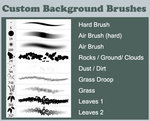 Custom Background Brushes