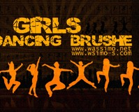 Dancing Girls Brush