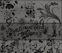 Floral Deco Brushes 2