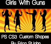 Girls with gun