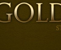 Gold text style
