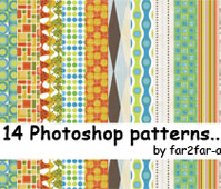 Photoshop patterns 01