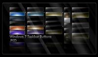 Win7 Taskbar Buttons .PSD