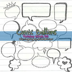Comic Ballons Brush-Set .2