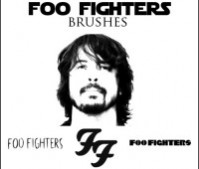 Foo Fighters Brushes!