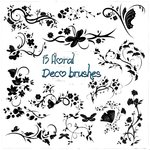 floral deco brushes ps7