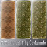 Patterns set 1 by Cevkarade